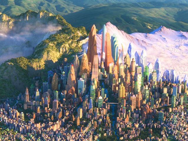 Какой район Зверополиса тебе больше нравится?